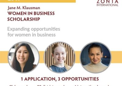 Jane M. Klausman | Women in Business Scholarship