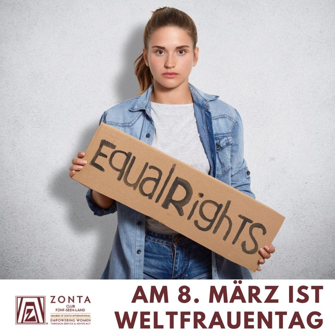 Weltfrauentag 8. März 2021