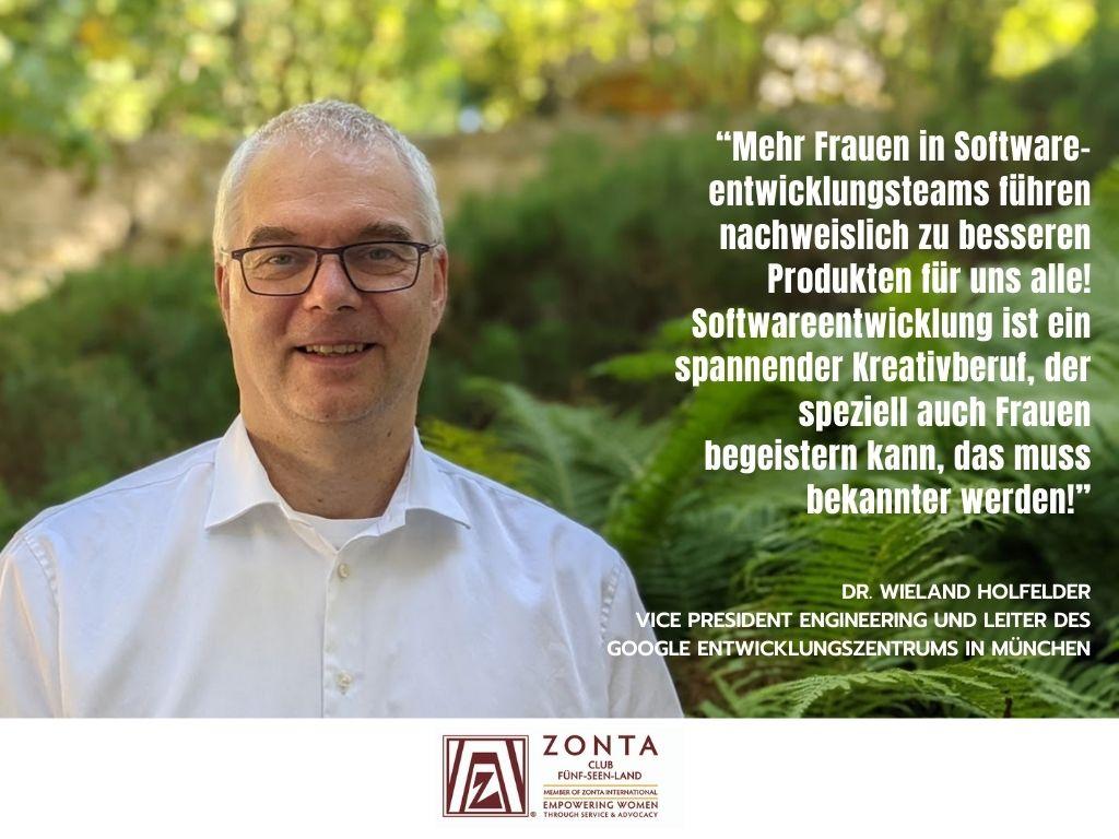 Dr. Holfelder HeforShe für #IWD2021